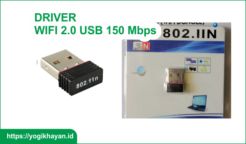 Driver Dongle Wireless 2.0 USB 802.11n