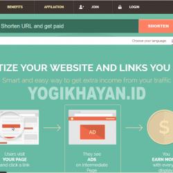 Cara Dapatkan Uang Dengan Ngeblog, Penyingkat URL Yang Membayar